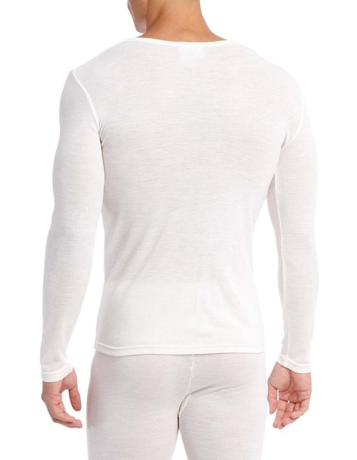 Merino Wool Blend Long Sleeve Top image 2