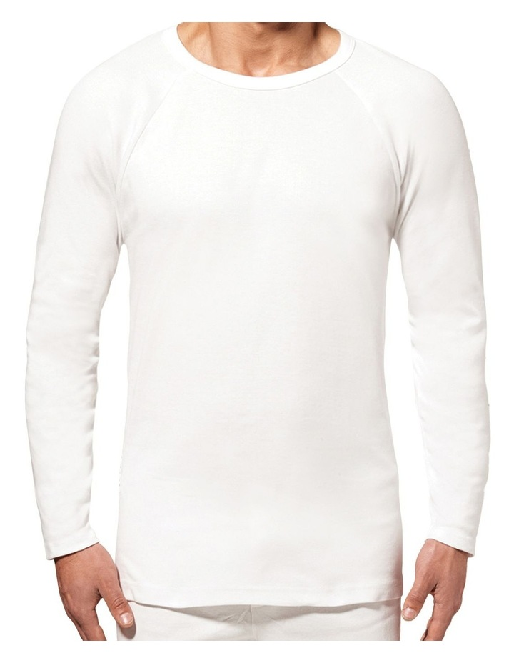Long Sleeve Thermal Cotton Tee image 1