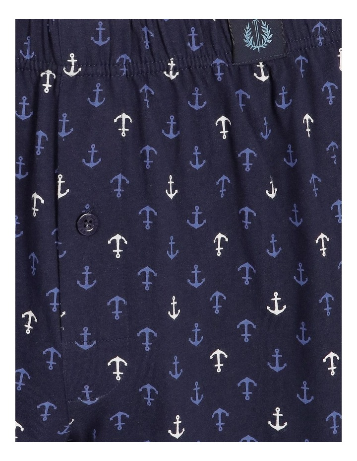 Loose Knit Print Boxer - Anchored image 4