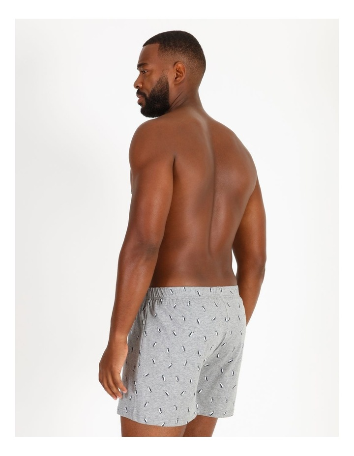 2 Pack Penguin Stripe Loose-Knit Boxers image 3