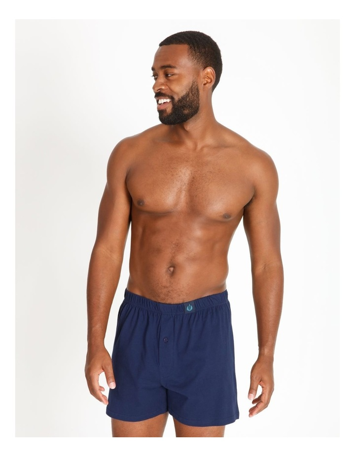 2 Pack Fox Stripe Loose Knit Boxers image 2