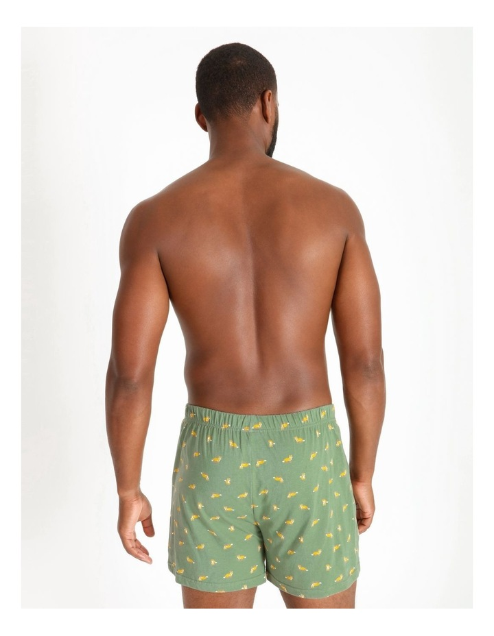 2 Pack Fox Stripe Loose Knit Boxers image 3