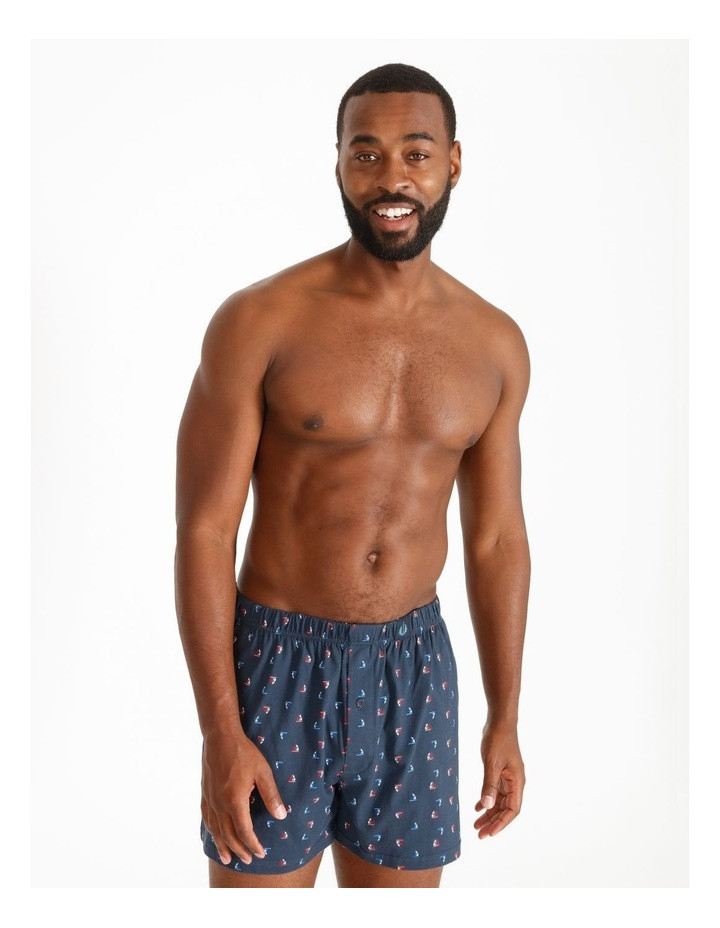 2 Pack Fashion Loose Knit Boxers image 2