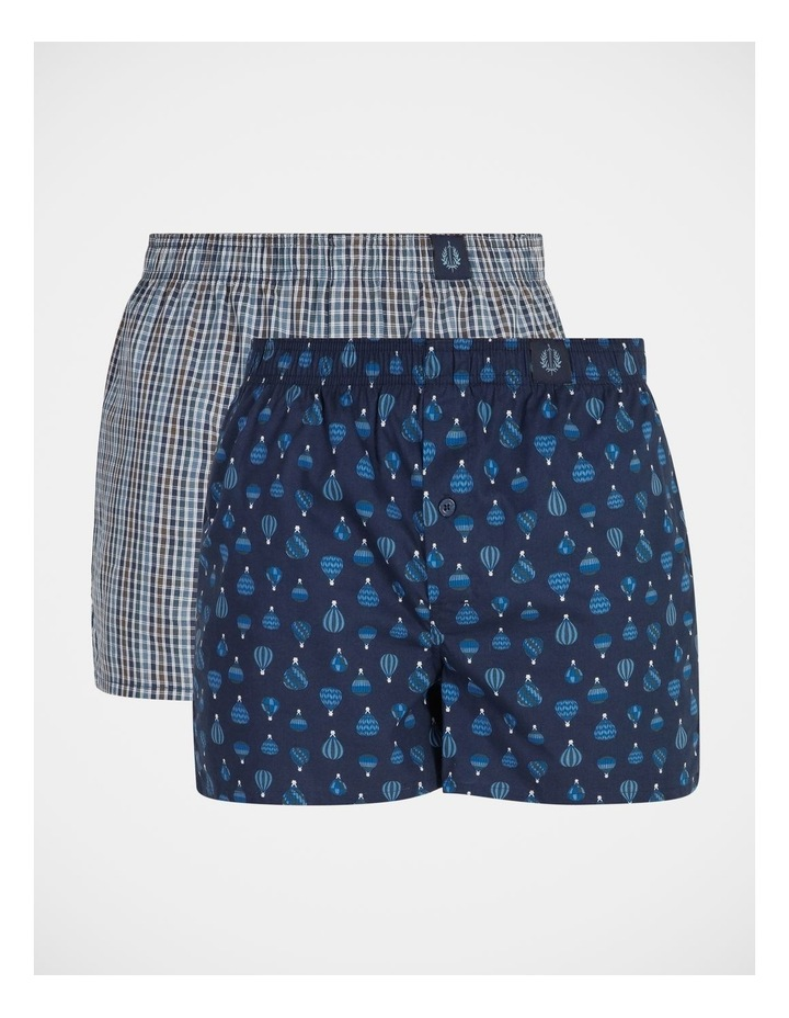 2 Pack Woven Boxers image 1