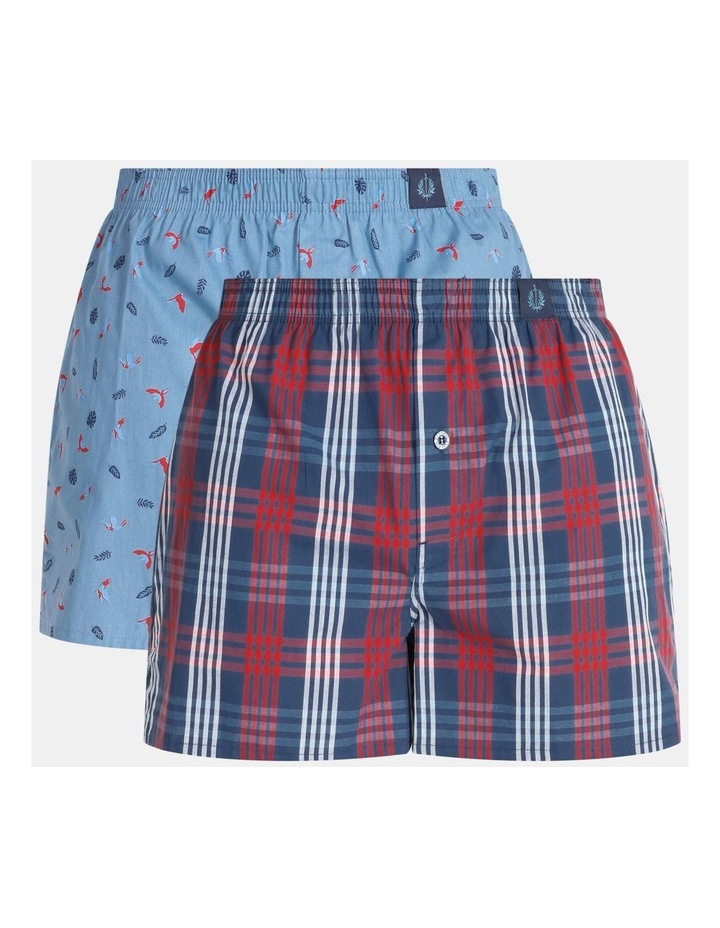 4 Pack Woven Boxers image 1