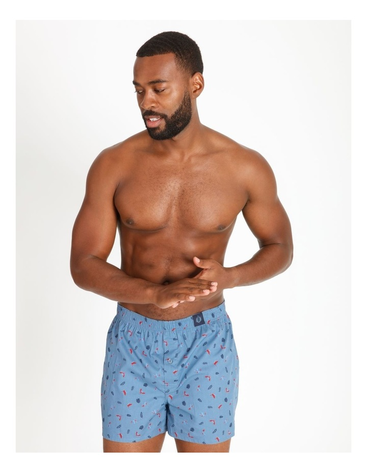 4 Pack Woven Boxers image 2
