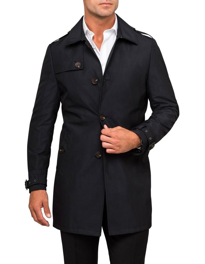 Bnvb Black Overcoat Pcqsm030z image 1
