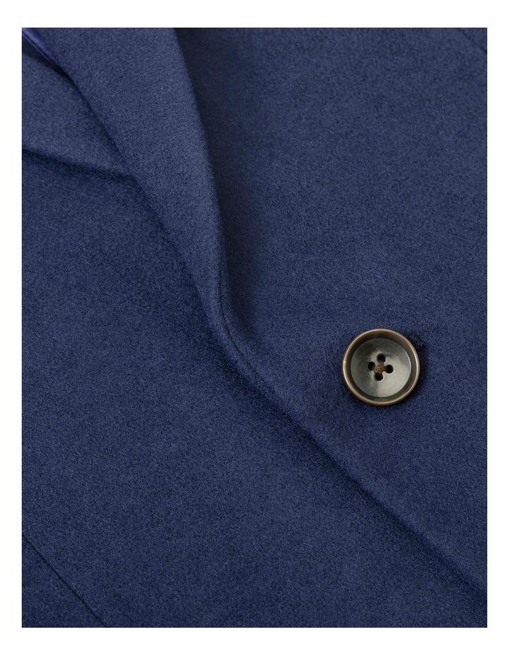 3/4 Length Melton Coat image 3