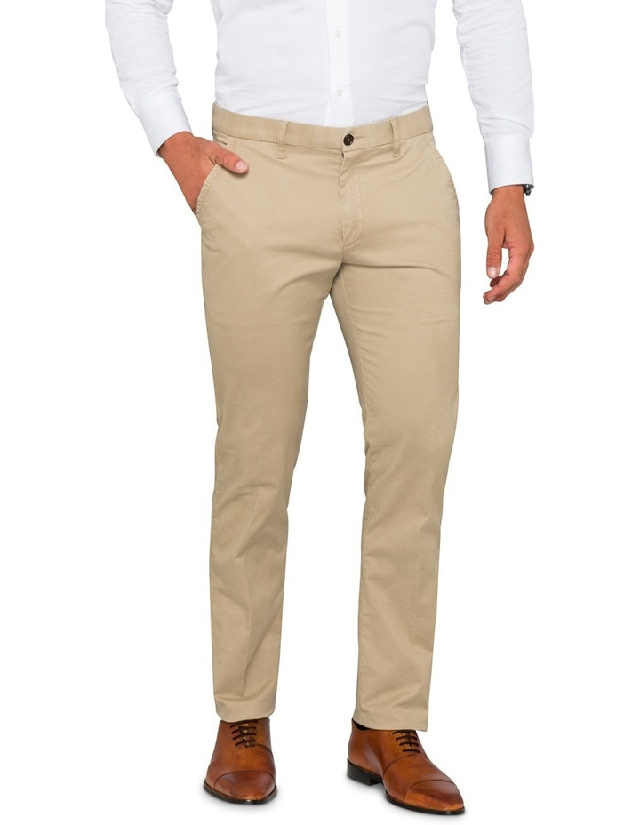 Taupe Chino Pant VPEM522Z image 1