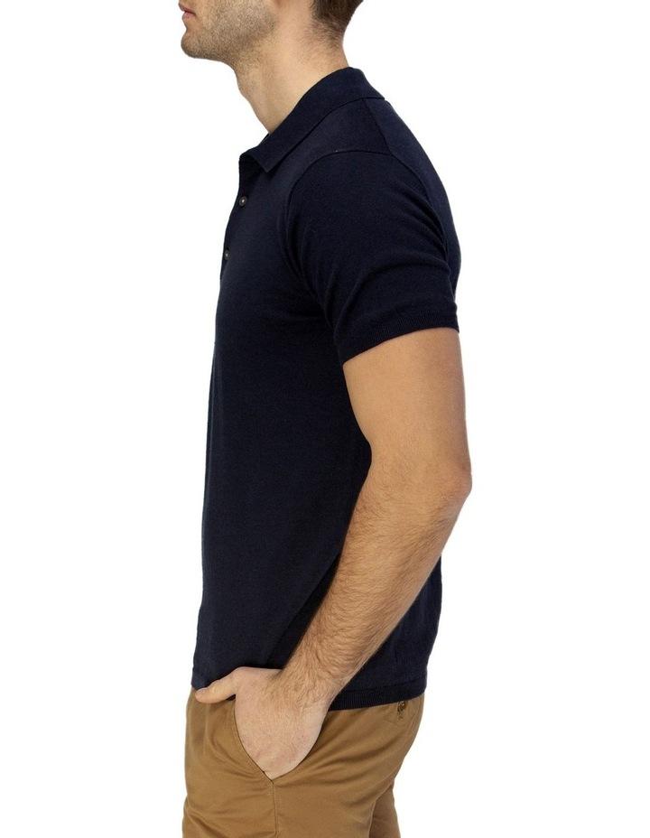 Short Sleeve Fine Knit Polo image 2