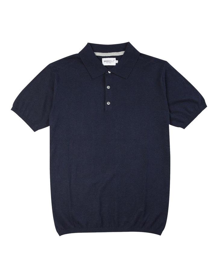 Short Sleeve Fine Knit Polo image 4
