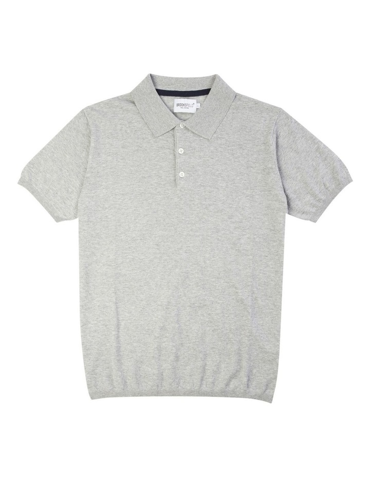 Short Sleeve Fine Knit Polo image 4