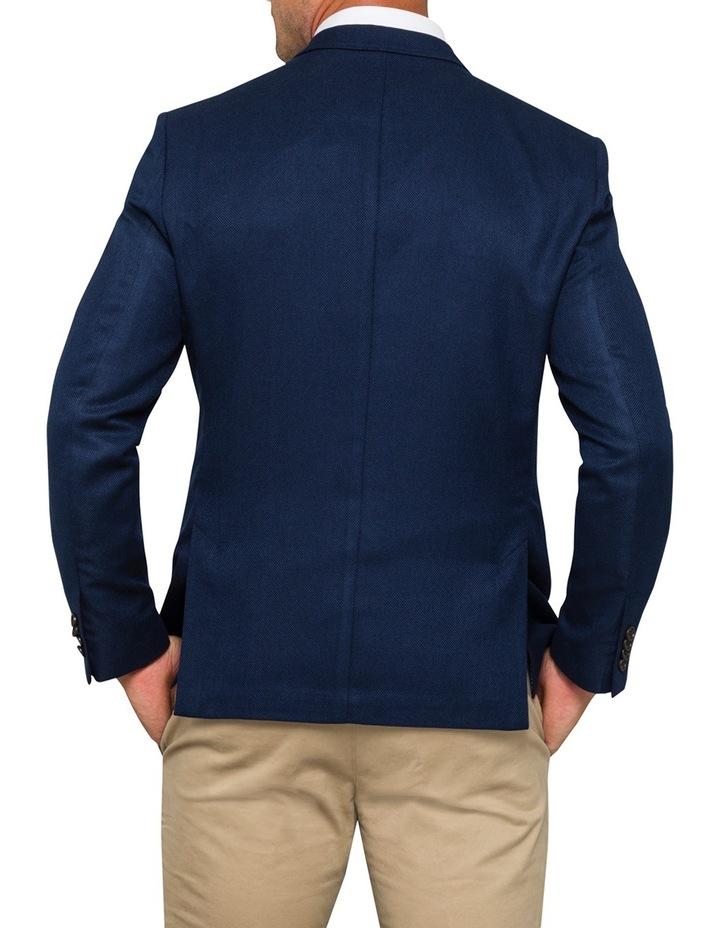 Navy Solid Sports Jacket VJEM514Z_RIKB image 2