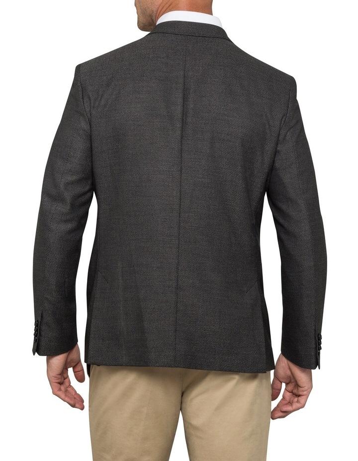 Van Heusen Euro Rccg Charcoal Herringbone Sports Jacket VBEM018Z image 2