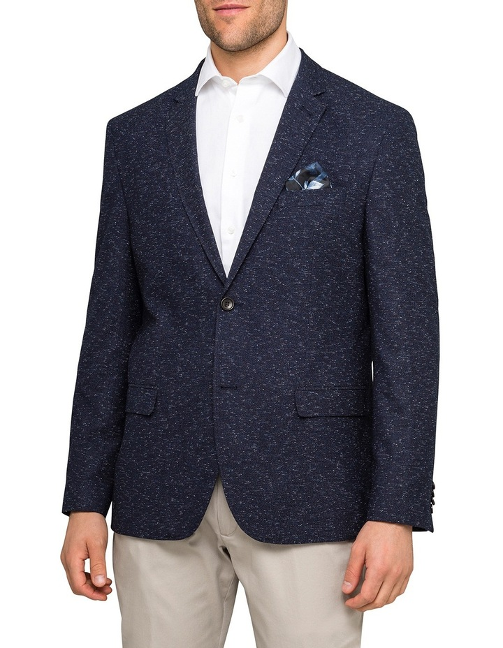 Navy Blue Fleck Sports Jacket VBEM016Z_RIKB image 1