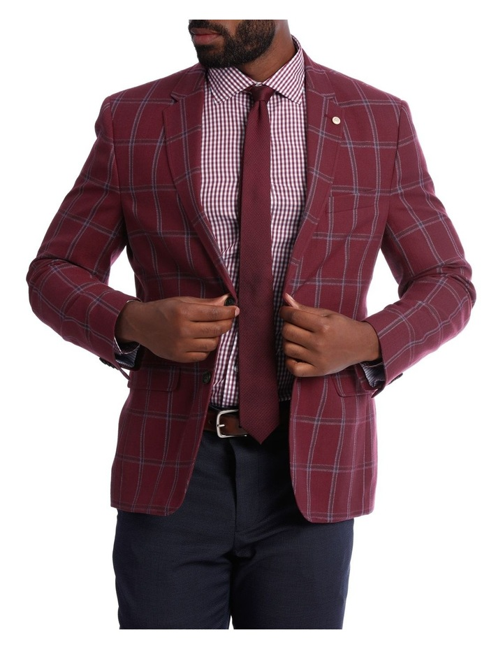 Red Check Jacket image 1