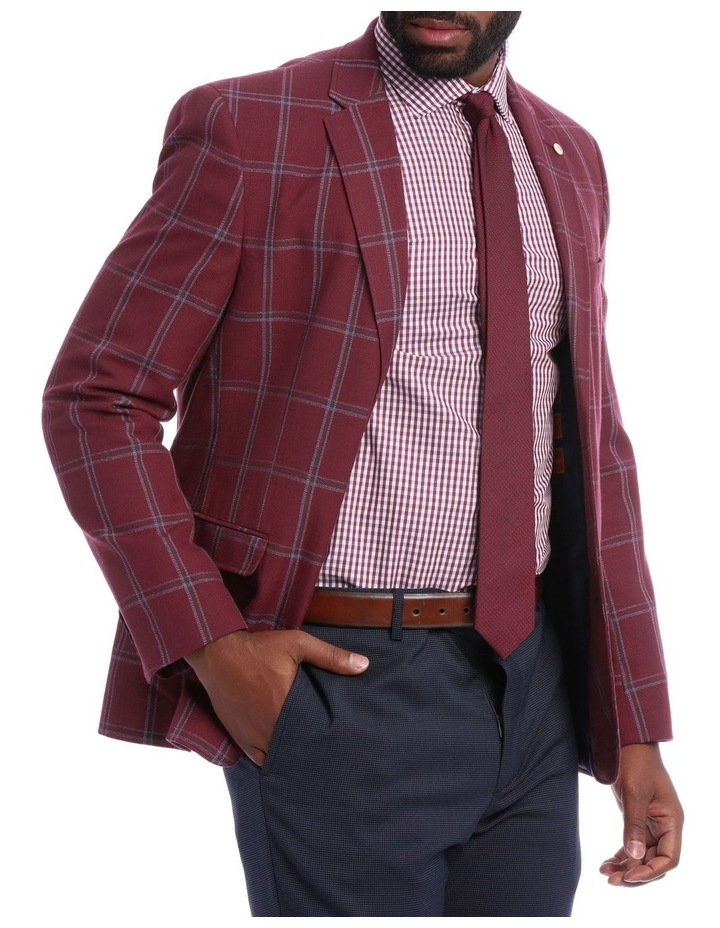 Red Check Jacket image 2