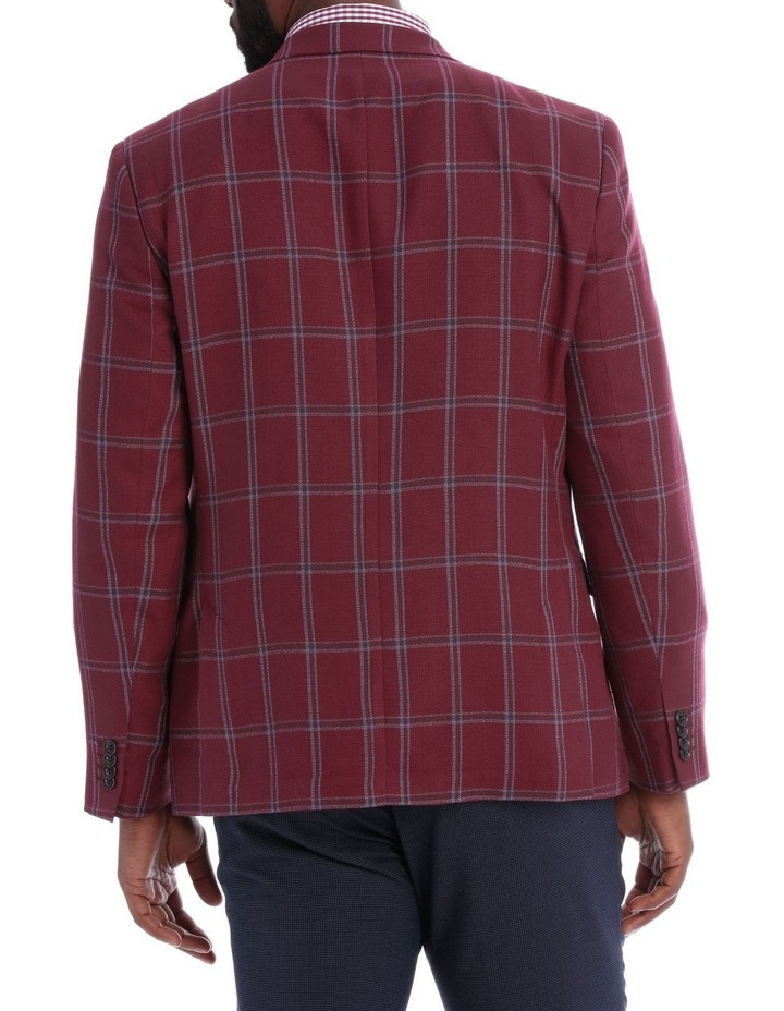 Red Check Jacket image 3