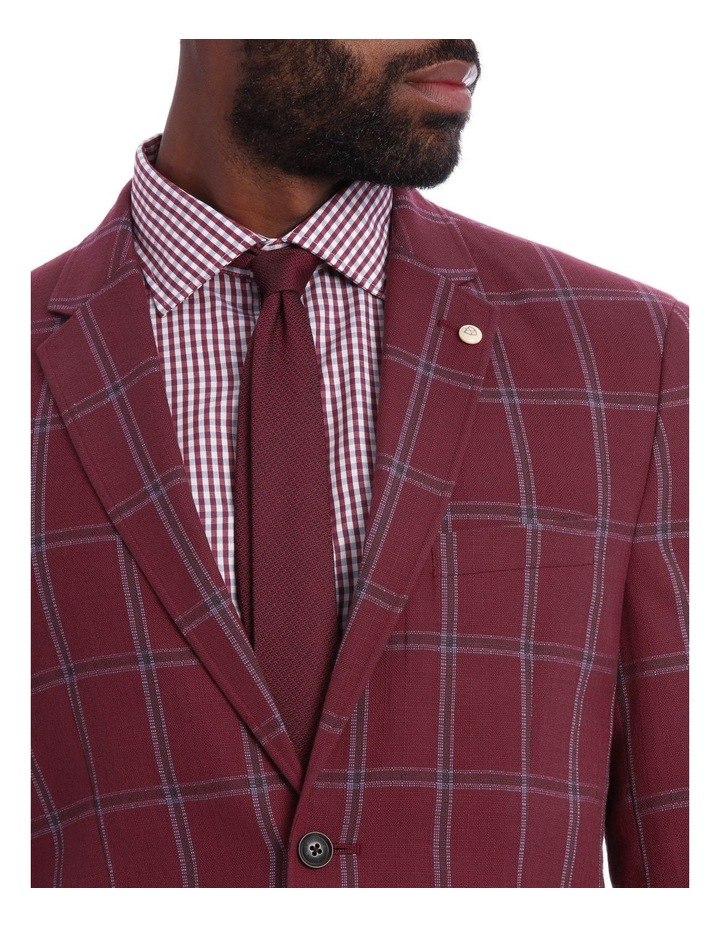 Red Check Jacket image 4