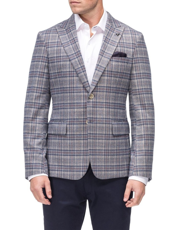 Check Peak Lapel Jacket image 1