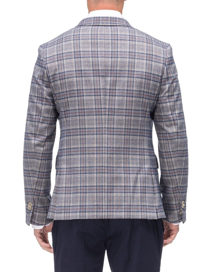 Check Peak Lapel Jacket image 2