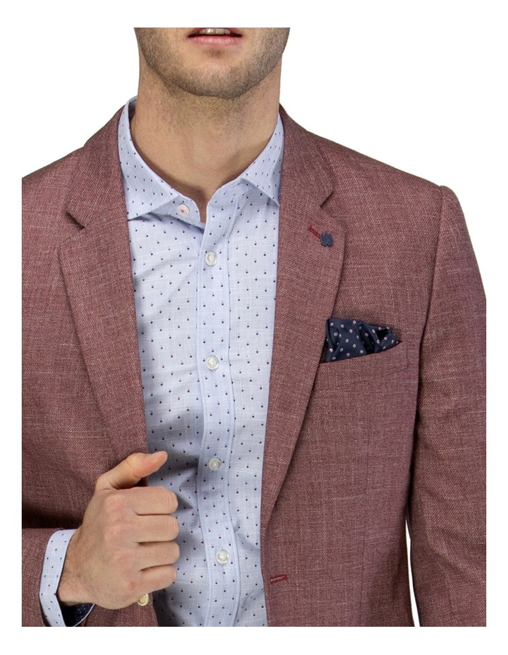 Two-tone Textured Blazer image 4