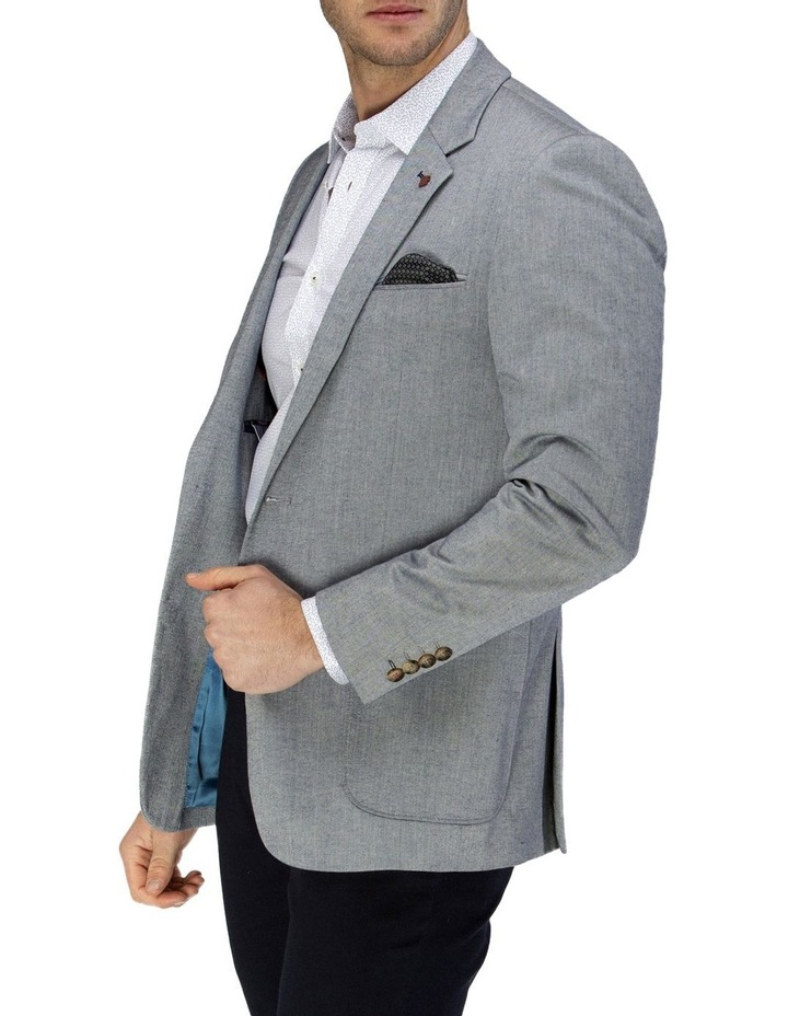 Stretch Herringbone Blazer image 2
