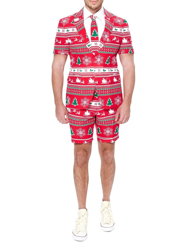 Winter Wonerland Short Christmas Suit image 1