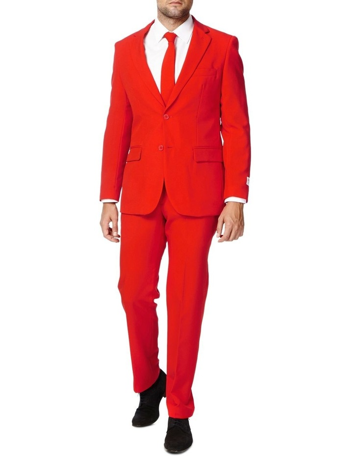 Men's Red Devil Solid Suit image 1