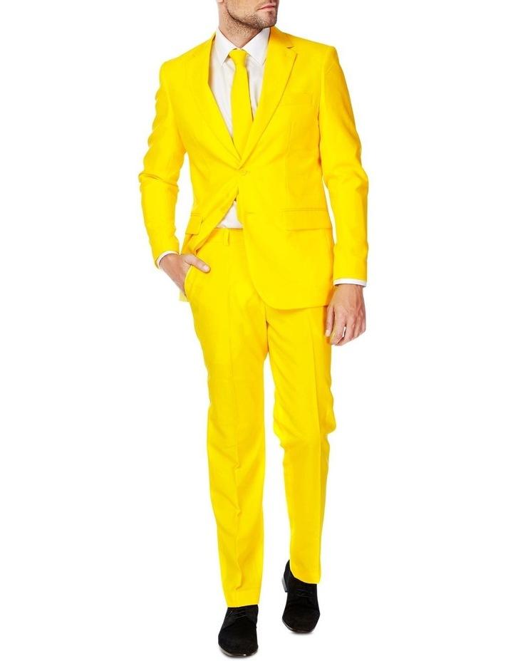 Men's Yellow Fellow Solid Suit image 1