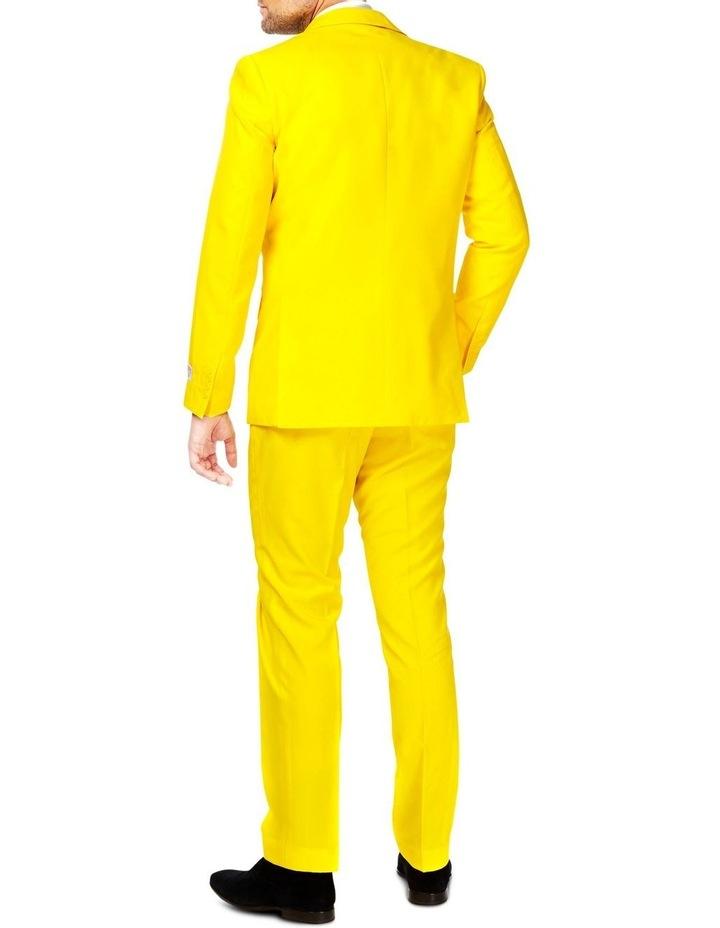 Men's Yellow Fellow Solid Suit image 2