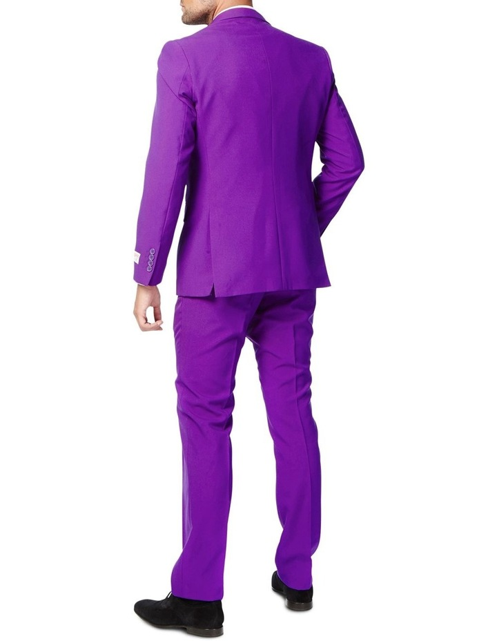 Men's Purple Prince Solid Suit image 2