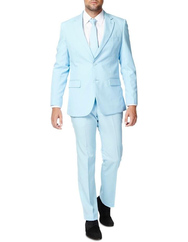 Men's Cool Blue Solid Suit image 1