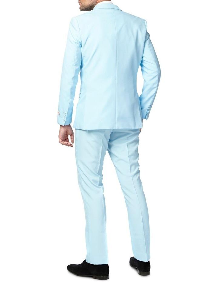 Men's Cool Blue Solid Suit image 2