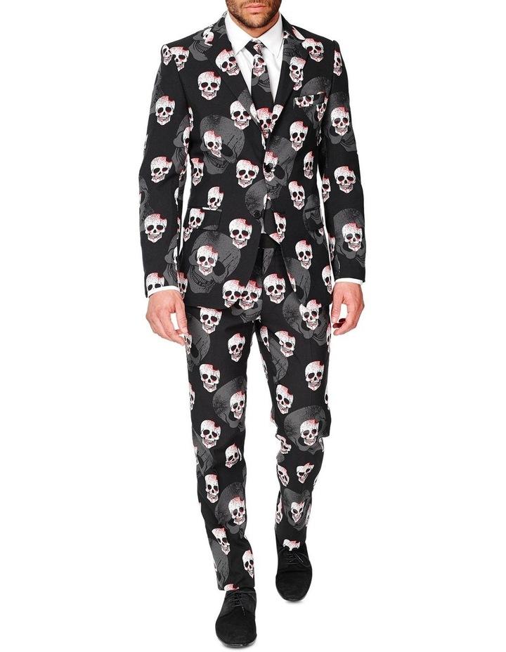 Men's Skulleton Halloween Suit image 1