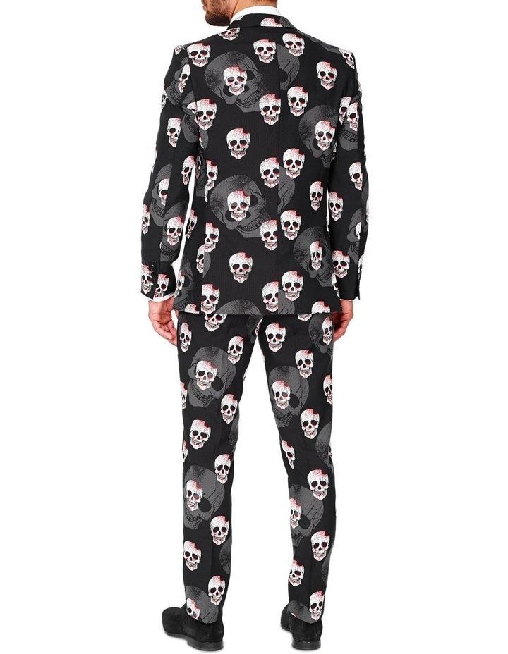 Men's Skulleton Halloween Suit image 2