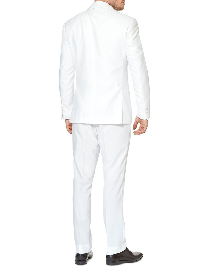 Men's White Knight Solid Suit image 2