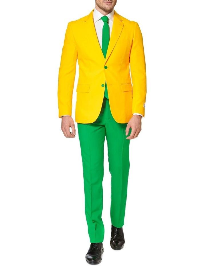 Men's Green and Gold Australian Suit image 1