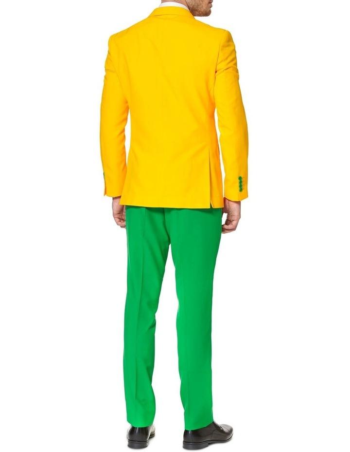 Men's Green and Gold Australian Suit image 2