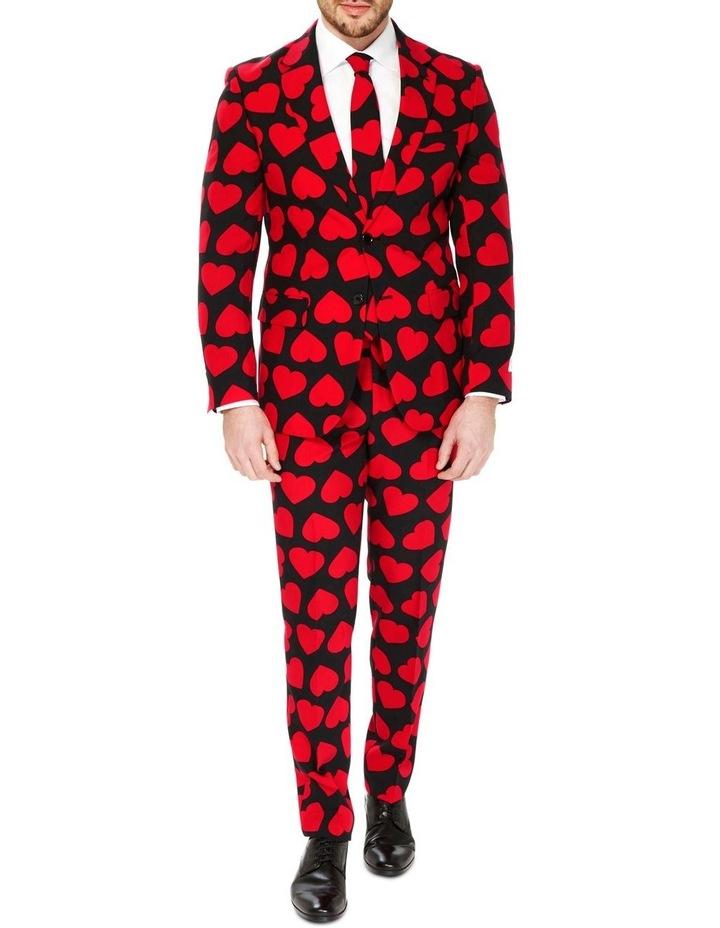 Men's King of Hearts Valentine Suit image 1