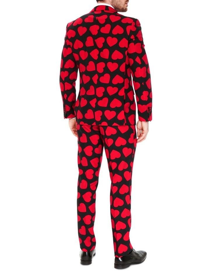 Men's King of Hearts Valentine Suit image 2