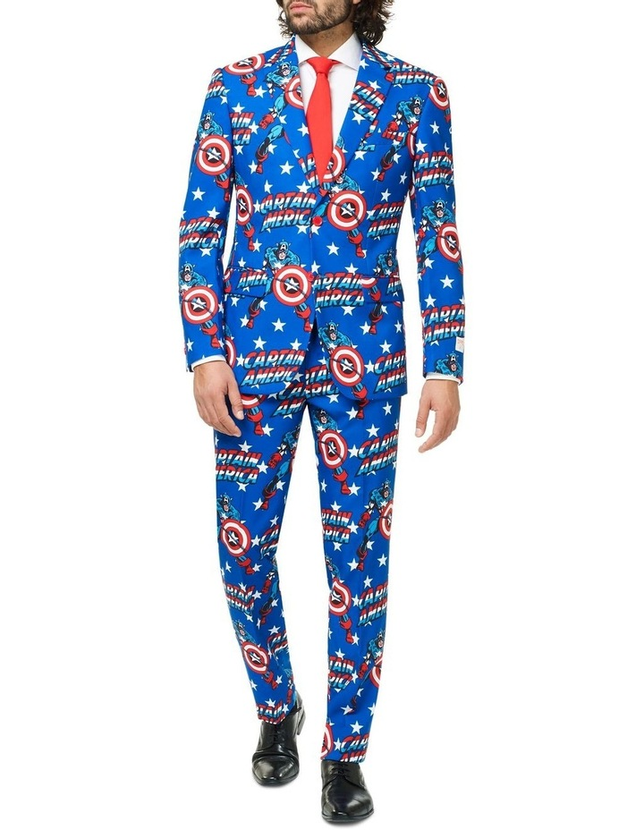 Men's Captain America Licensed Suit image 1