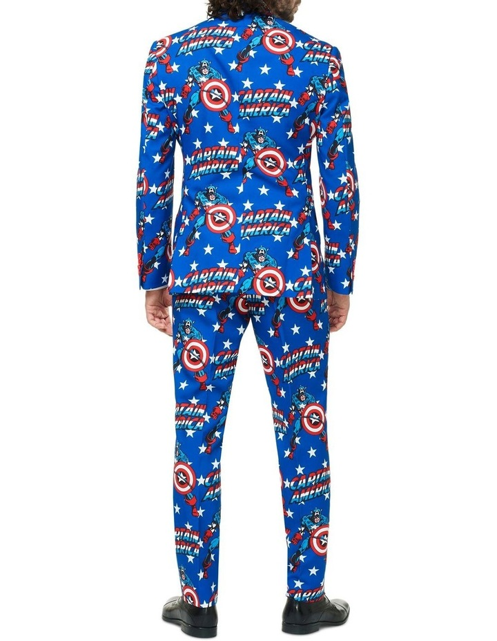 Men's Captain America Licensed Suit image 2
