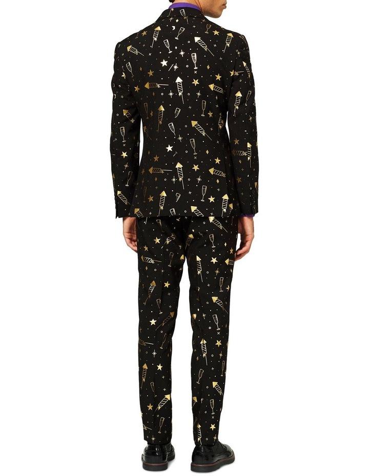 Men's Fancy Fireworks Christmas Suit image 2