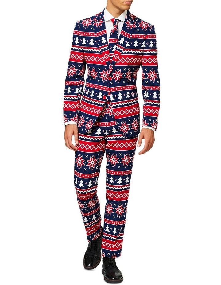 Men's Nordic Noel Christmas Suit image 1