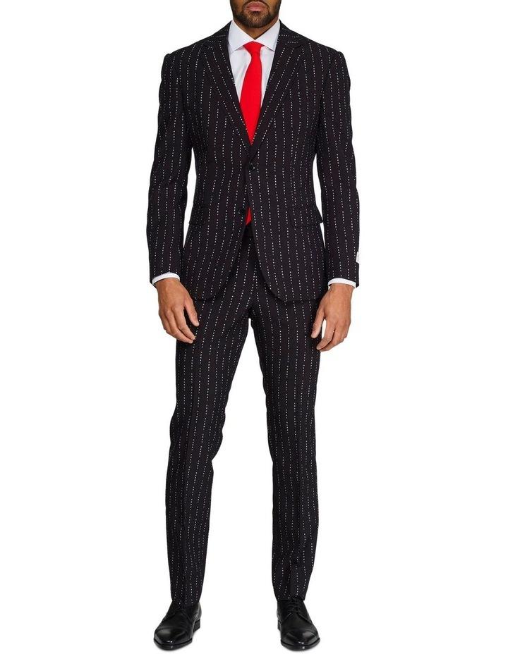 Men's Merry Pinstripe Christmas Suit image 1