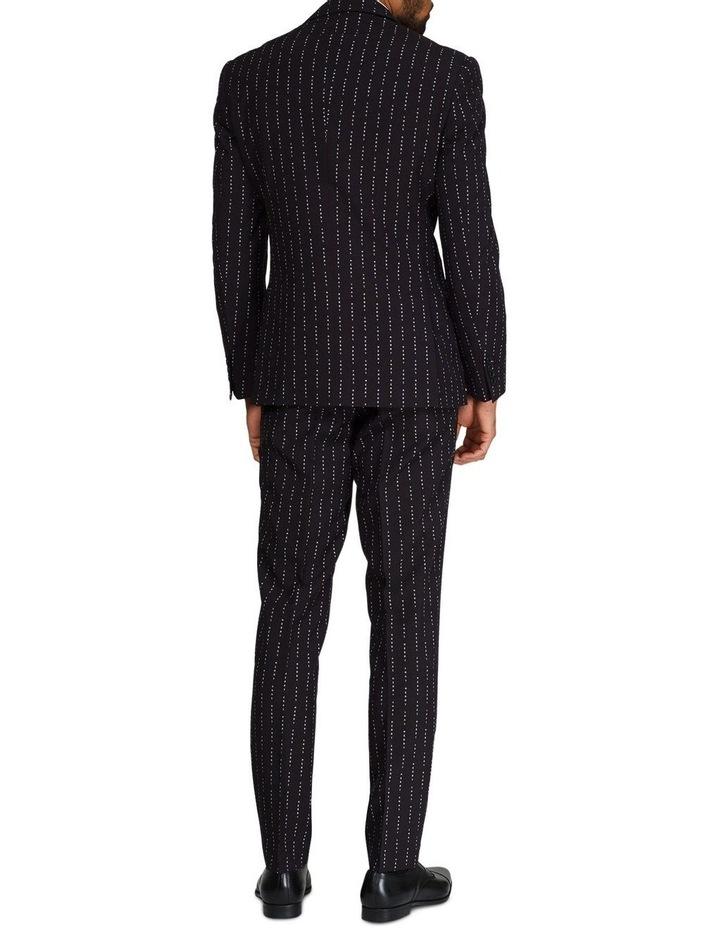 Men's Merry Pinstripe Christmas Suit image 2