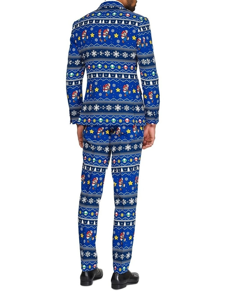 Men's Merry Mario Licenced Christmas Suit image 2