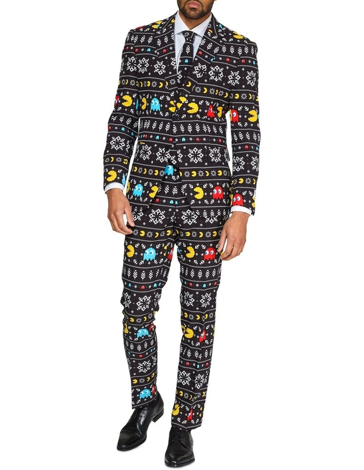 Men's Winter Pac-Man Licenced Christmas Suit image 1