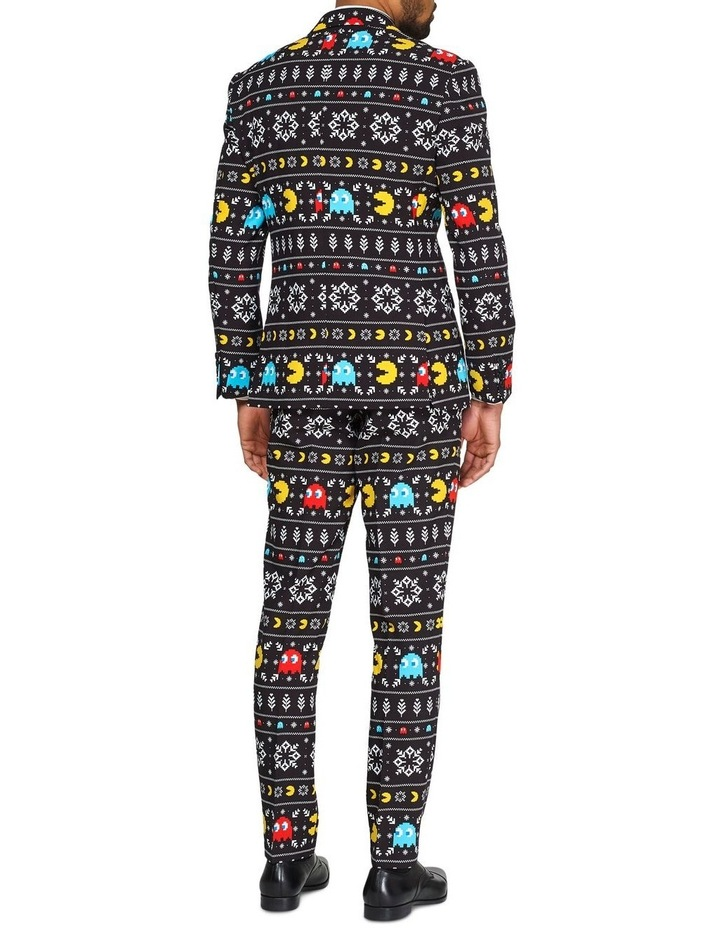 Men's Winter Pac-Man Licenced Christmas Suit image 2